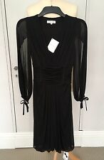 Celine Dress Black Size 36 UK 6/8 NEW £945