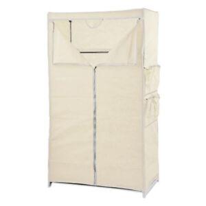 Tissu-Penderie-Coquille-D-039-Oeuf-Cabinet-Materiau-Armoire-de-Camping-Vestiaire