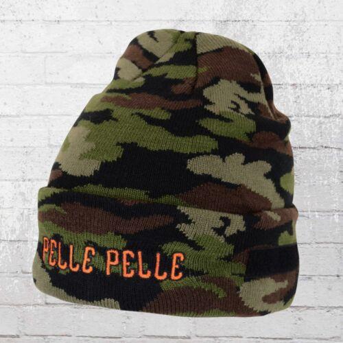 Pelle Pelle Tricot-Bonnet guérilla Beanie Camouflage Camouflage Capot Knit a