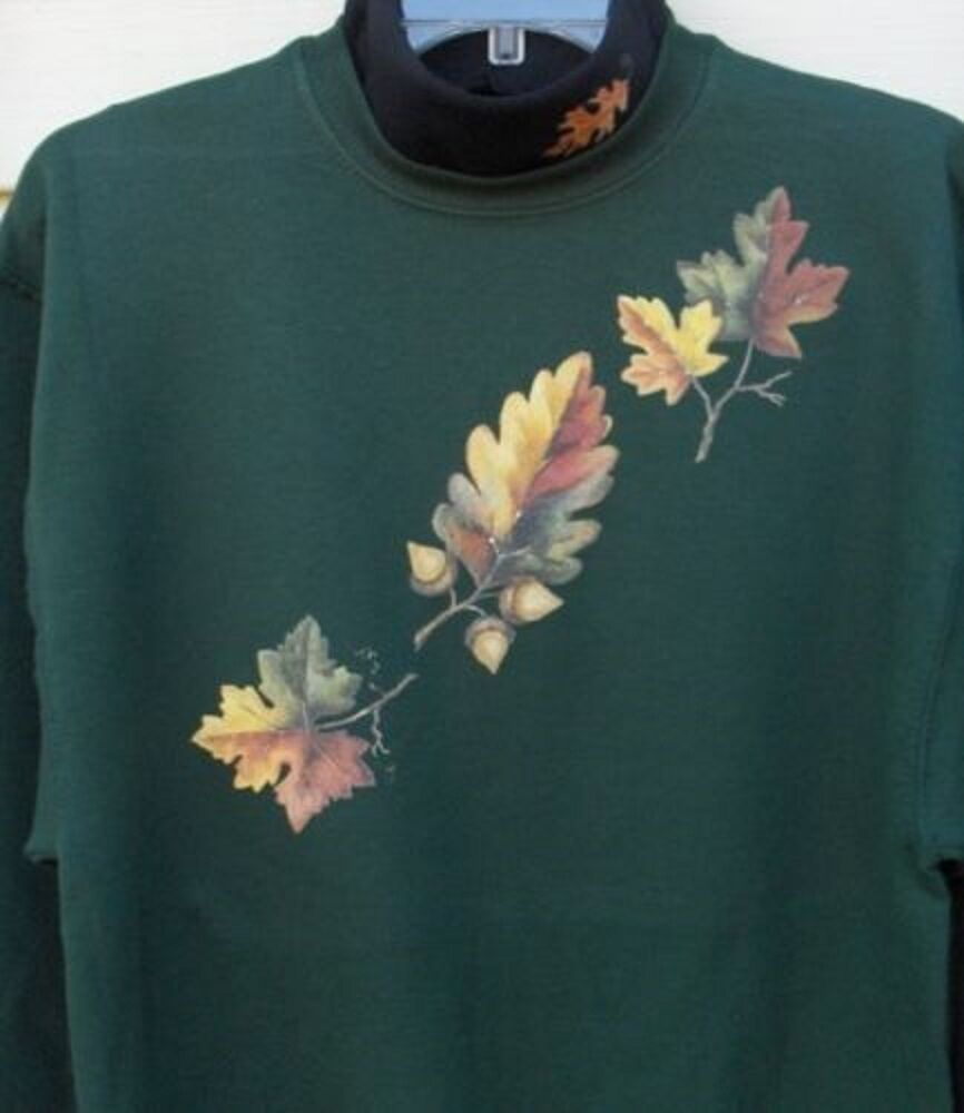 WOMEN'S SWEATSHIRT OR HOODIE FALL LEAF SM SM SM - 3XL THANKSGIVING HALLOWEEN 0f7c4c