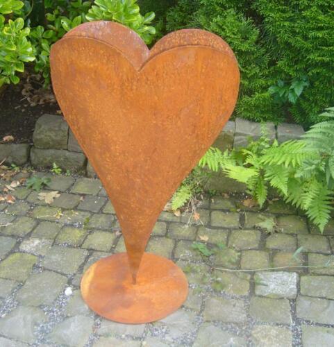 Herz 70 cm Deko Rost Metall Gartendeko Edelrost Eisen Hochzeit Garten Valentin