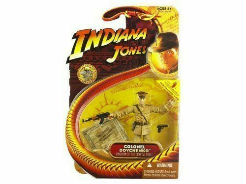 "Colonel Dovchenko 3.75/"" INDIANA JONES Kingdom of the Crystal Skull Hasbro MOC"
