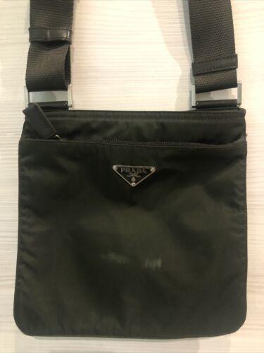 Prada Nylon Crossbody Bag Olive Green
