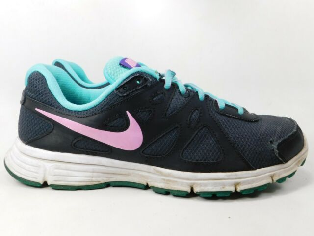 on sale 3e0e5 b887b Nike Revolution 2 Sz 10 M (B) EU 42 Women s Running Shoes Black Teal