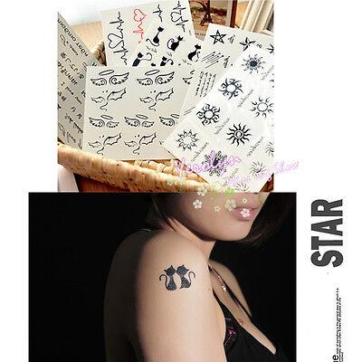 New Fashion Body Art Sticker Removable Waterproof Temporary Totem Tattoo Sticker