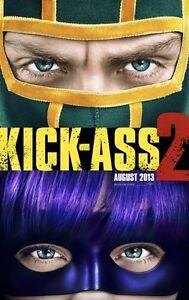 Kick-Ass 2 Original Advance Zweiseitig Kinofilm Plakat 69x102cm Hit Girl