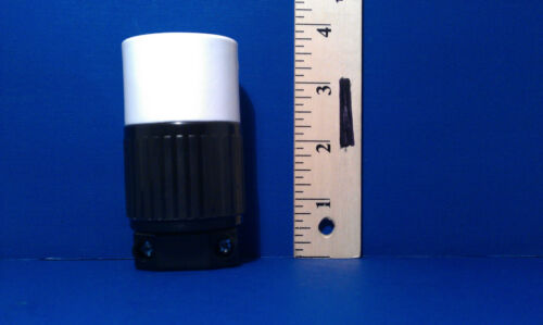 Replacement 30 Amp 250 Volt Female Twist Lock 3 Wire Power Cord Plug Nema L6-30R
