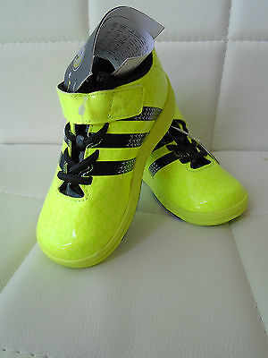 Adidas Baby Sneakers Schuhe Halbschuhe Klett FB ACE gelb Größe 24 Neu