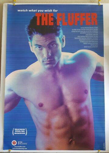 THE FLUFFER Movie Theater Poster 2001 Original SS 27x40