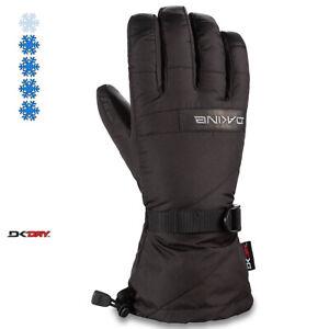 2020-Men-039-s-Dakine-Nova-Leather-5-Finger-Ski-Gloves-Size-8-5-Med-Black-01300325