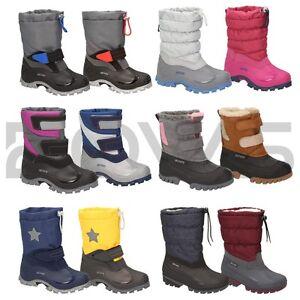 b9e3ea5bb8adba Das Bild wird geladen BOWS-Winterstiefel-coole-Kids-Winter-Boots-Kinder- Schuhe-
