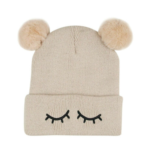 Toddler Infant Kids Girl Boy Cute Baby Winter Warm Crochet Knit Hat Beanie Cap