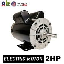 2 Hp Spl Compressor Duty Electric Motor 3450 Rpm 56 Frame 58 Shaft 120240v