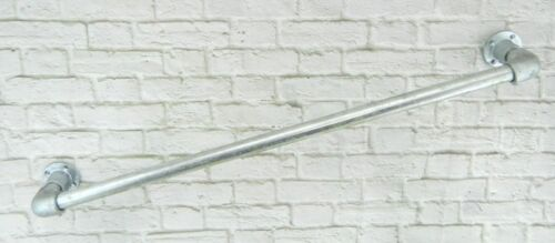 Handrail tombe rail Galvanised 33.7 x 1000 mm Mobility Safety Industrial Loft
