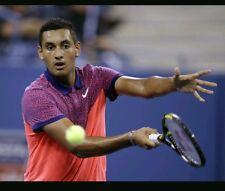 Nike Dri fit tennis polo shirt U.S. open Medium M RF Federer Nadal