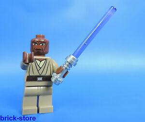 LEGO-STAR-WARS-Figura-Jedi-Caballero-MACE-WINDU-con-espada-laser