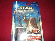 Star Wars - Attack of the Clones - Obi Wan Kenobi jedi starfighter pilot with li