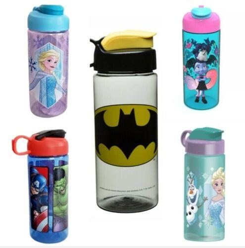 Zak Water Bottles Designs BPA Free Kids Disney Marvel Frozen