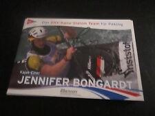 49672 Jennifer Bongardt Rudern Kanu original signierte Autogrammkarte