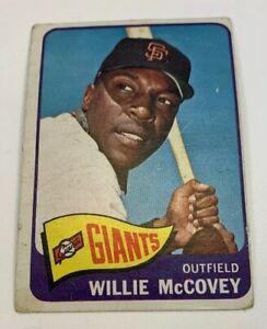 1965-Topps-176-Willie-McCovey-Baseball-Card-San-Francisco-Giants-SF-HOF