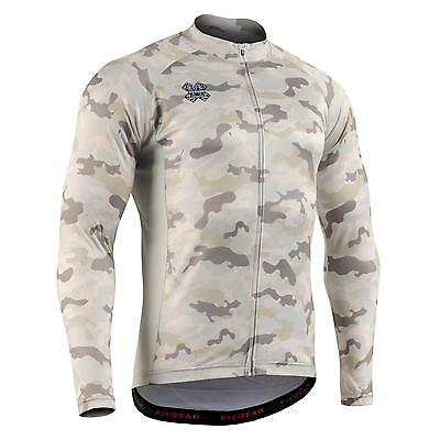 FIXGEAR CS-M1Y1 Men's Long Sleeve Cycling Jersey Bicycle Apparel Roadbike MTB