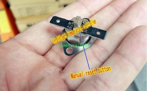 5pcs 135 ℃ overheating protection Temperature Controller Manual recovery
