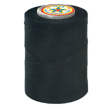 #2~STAR COTTON MACHINE QUILTING & SEWING CRAFT THREAD~BLACK~30 WT~V37-2