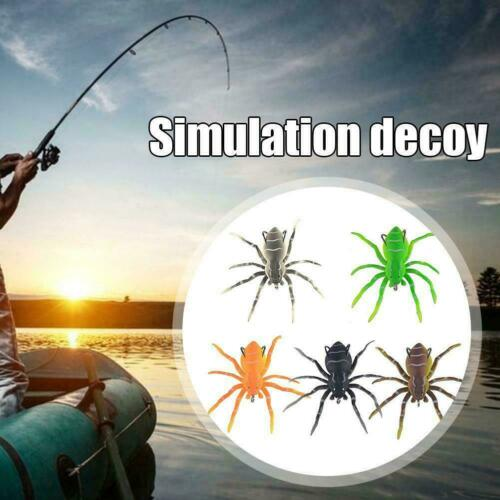 show original title Details about  /1 piece Spider Soft Bait Silicone Lures Fishing Bait With Design C2O3