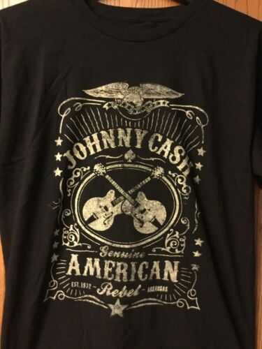 Johnny Cash  Shirt.      Black.   L