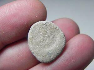 Ancient Egypt af1110 Zurqieh Roman Or Earlier Lead Token/bulla 100 A.d