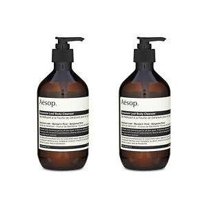 2X-Aesop-Geranium-Leaf-Body-Cleanser-17-99oz-500ml
