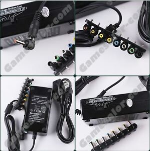 CHARGEUR-UNIVERSEL-ALIMENTATION-PC-PORTABLE-90W-pour-Acer-Dell-HP-Compaq-Toshiba