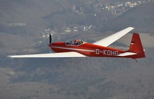Details about Schleicher ASK 14 AS-K Motor Glider Handcrafted Wood Model  Regular New