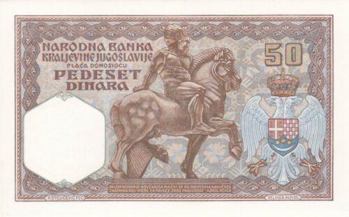 Yugoslavia 50 Dinara 1931 P 28 UNC
