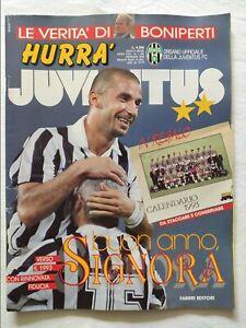 HURRA-039-JUVENTUS-N-1-GENNAIO-1993-CALENDARIO-1993-GIANLUCA-VIALLI-ZICO