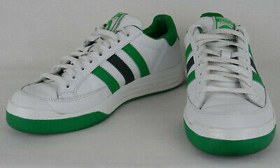 Retro Adidas Ilie Nastase 519076 White Greens Low Top Mens US 8 UK 7.5 1207 | eBay