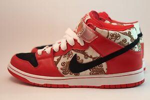 feb3a1e78d62 Nike Dunk Mid Premium SB LINOLEUM 314381-001 US SIZE 10.5 BRAND NEW ...