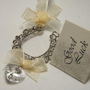 Unique-Quality-Bridal-Wedding-Horseshoe-Crystal-Heart-Good-Luck-Charm-Keepsake