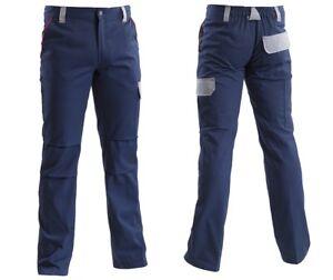 """Pantalone da lavoro linea """"Worker 2.0"""" Navy blu Grigio"""