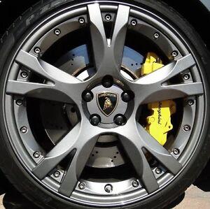 "19"" lamborghini gallardo callisto wheels rims caps lp560 gray"