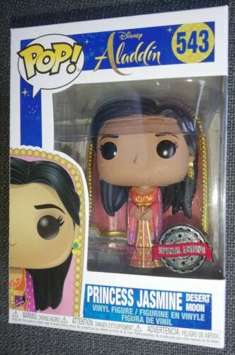 Funko Jasmine Desert Moon esclusivo Pop Figura in vinile Aladino Disney