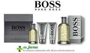 HUGO BOSS PARFUM HOMME BOSS FLACON EAU DE TOILETTE SET APRÈS SE ... 956039258aa8