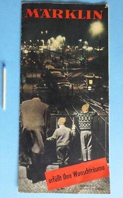 1965 / 66 Märklin Erfüllt Ihre Wunschträume Prospekt ös Spielwaren Herold Wien