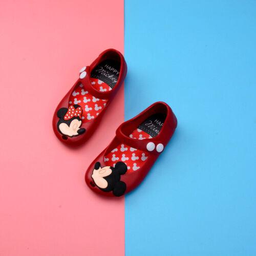 Baby Kids Girls Toddlers Children Summer Jelly Dress Shoes Sandals Cartoon Soft