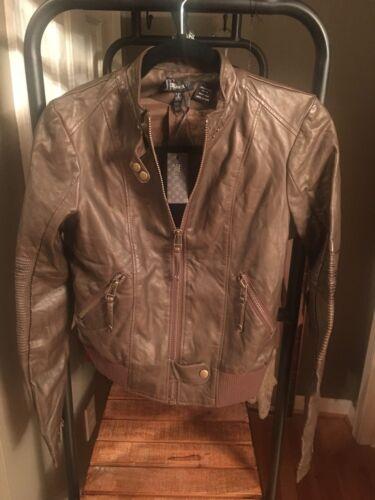 Kvinders Miss Moto Læder Me Zip Faux S Jacket Dark Brown OFfxFv