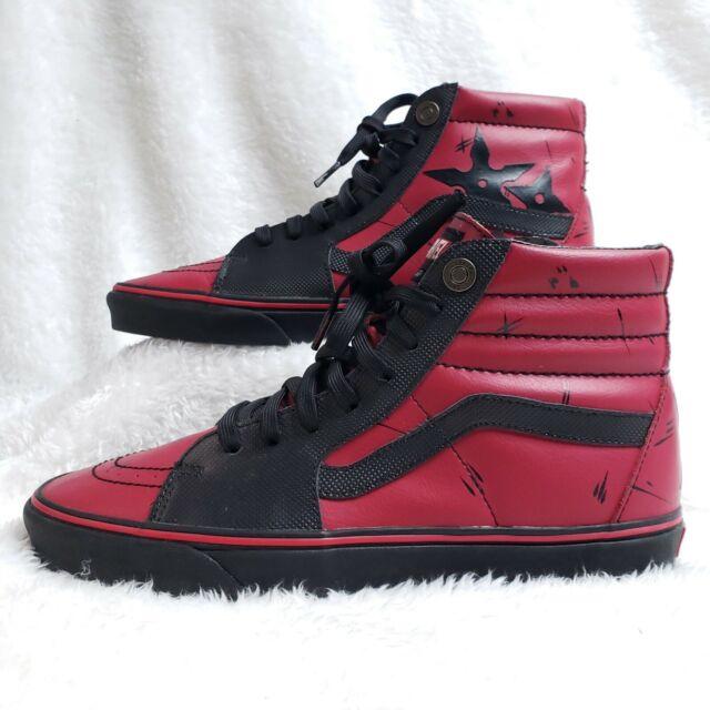Size 11 - VANS Sk8-Hi x Marvel Deadpool for sale online | eBay