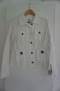 Blazer Sakko Jacke von H&M, weiß, Größe 42 - Beilstein, Deutschland - Blazer Sakko Jacke von H&M, weiß, Größe 42 - Beilstein, Deutschland