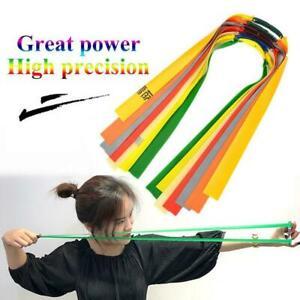 10pcs-Free-rubber-band-slingshot-band-catapult-latex-For-hunting-flat-elast-H2C4