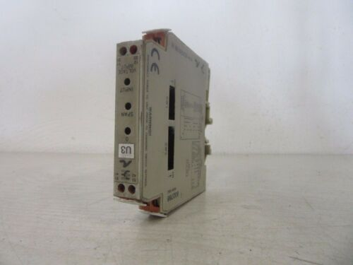 Weidmüller UPAC Analogue Isolator W408-00A2 832766 used