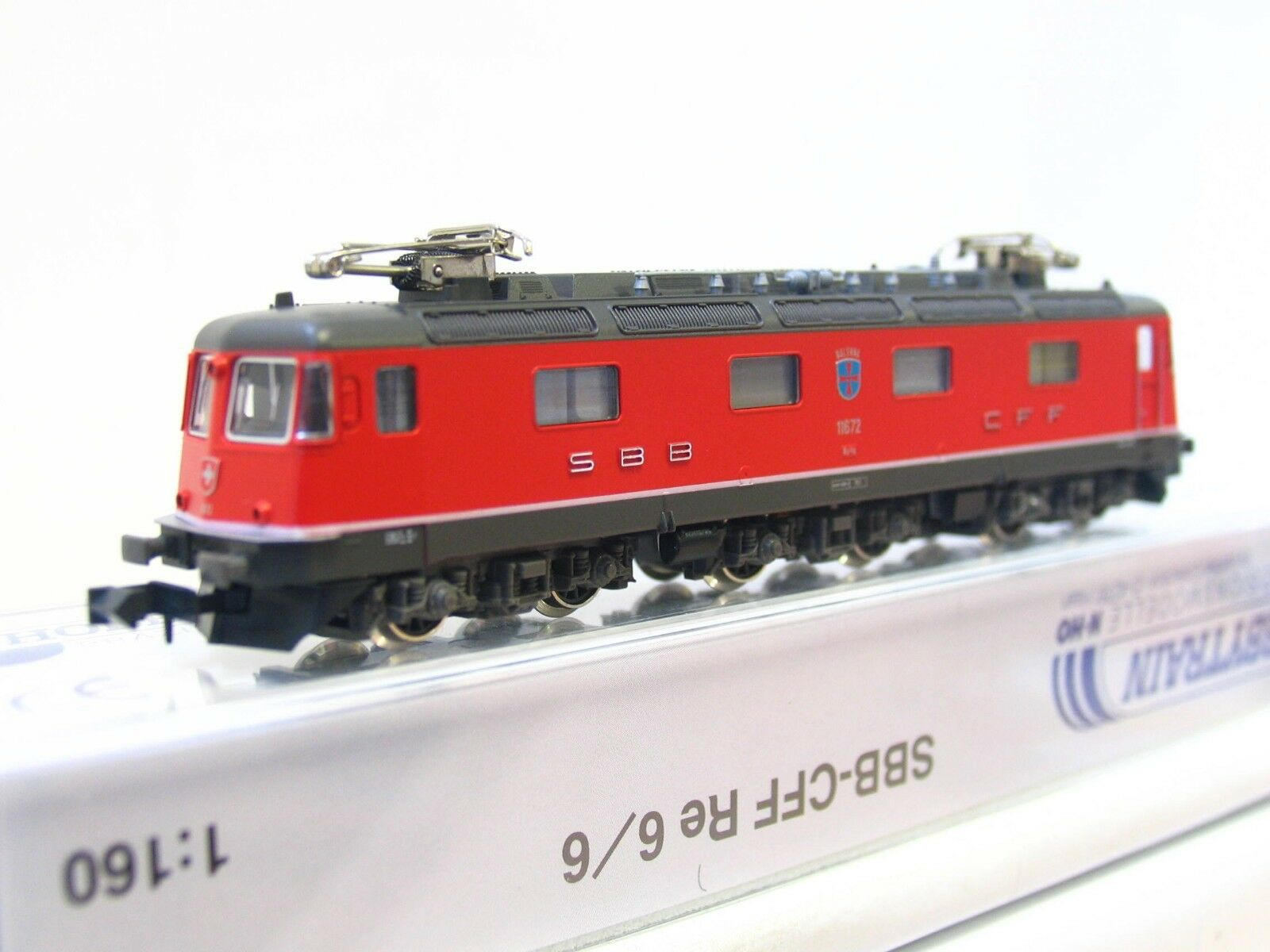 70% de descuento Hobbytrain n h10110 e-Lok e-Lok e-Lok re 6 6 11672 balerna SBB CFF FMS embalaje original (v9920)  ofreciendo 100%